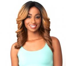 The Wig Brazilian Human Hair Blend Lace Front Wig - LH FLIP