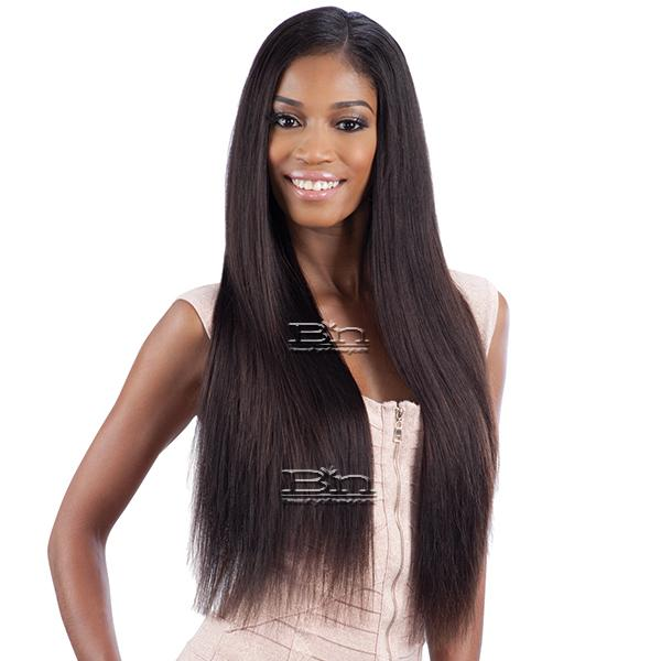 100% Unprocessed Brazilian Virgin Remy Hair - NAKED NATURE WET & WAVY LOOSE CURL 7PCS (18/18/20/20/22/22 + Silk Base Closure)