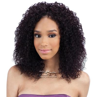 100% Unprocessed Brazilian Virgin Remy Hair - NAKED NATURE WET & WAVY BOHEMIAN CURL 7PCS (10/10/12/12/14/14 + Silk Base Closure)