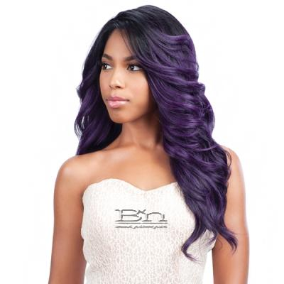 Model Model Synthetic Hair Lace Deep Invisible L Part Lace Front Wig - COCO MEADOW