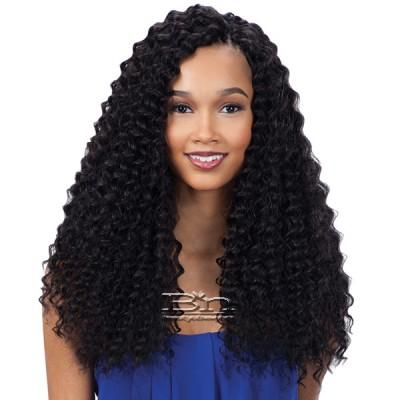 Freetress Synthetic Braid - 3X PRE-LOOP CROCHET DEEP TWIST BRAID 16