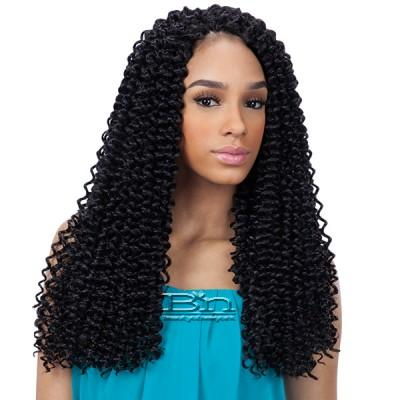 Freetress Synthetic Braid - 3X PRE-LOOP CROCHET WATER WAVE BRAID 16