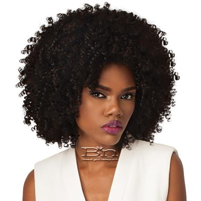 Outre Synthetic Half Wig Quick Weave Big Beautiful Hair - 4A-KINKY