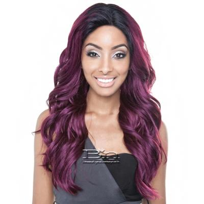 Isis Brown Sugar Human Hair Blend Seamless Lace Wig - BS502 PARIS (5X3 Full Lace Front)