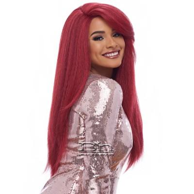 Harlem 125 Synthetic Hair Swiss Lace Deep Curved Part Wig - LSD01