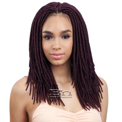Freetress Synthetic Braid - 2X MEDIUM SOFT FAUX LOC 12 (24PCS)