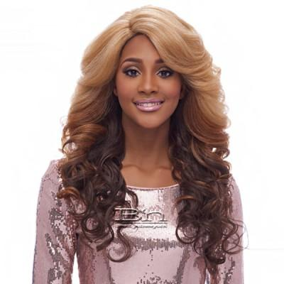 Harlem 125 Synthetic Hair Swiss Lace Deep Curved Part Wig - LSD02