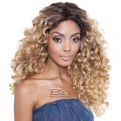 Isis Brown Sugar Human Hair Blend Seamless Lace Wig - BS505 VIENNA (5X3 Full Lace Front)