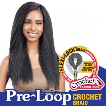 Freetress Synthetic Braid - 3X PRE-LOOP CROCHET YAKY 16