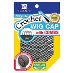 Freetress Crochet Wig Cap With Combs (Specialized Diamond Shape Net)