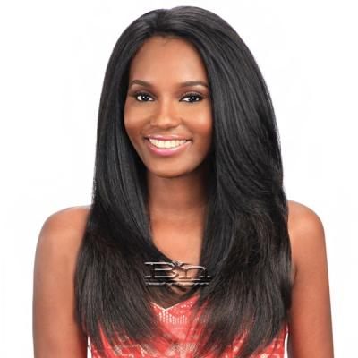 Model Model Synthetic Hair U Curve Lace Front Wig - SAGE (5 X 4 Parting Versatility)