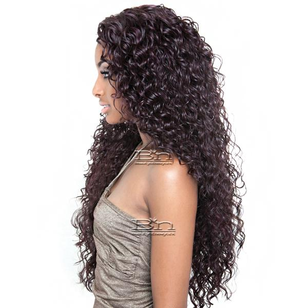 Mane Concept Brown Sugar Human Hair Blend Seamless Lace Wig - BS503 TAHITI (5X3 Full Lace Front)