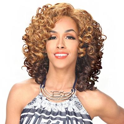 Zury Sis Synthetic Hair Dual Color Reversible Half Wig - CF H RV PONY