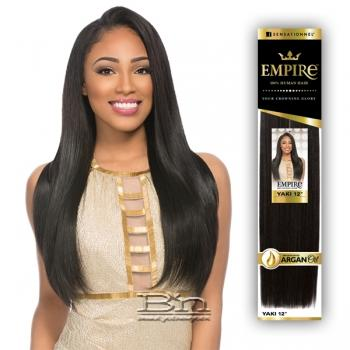 Sensationnel 100% Human Hair Weaving - EMPIRE YAKI WVG 12