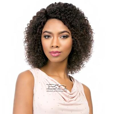 Sensationnel 100% Brazilian Virgin Remi Bare & Natural L Part Lace Front Wig - NATURAL JERRY