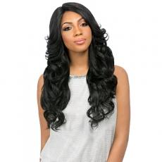 Sensationnel Stocking Cap Quality Custom Lace Wig - PERM ROMANCE (hand-tied Part W/ Multiple Parting Option)
