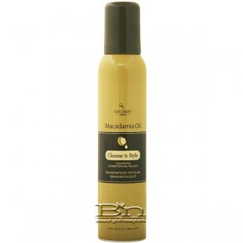 Hair Chemist Macadamia Oil Cleansing Conditioning Mousse 6.3oz