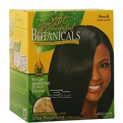 Soft & Beautiful Botanicals Ultra Nourishing No-Lye Sensitive Scalp Relaxer - Regular