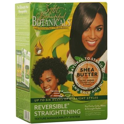 Soft & Beautiful Botanicals Ultra Nourishing Reversible Straightening Texture Manageability System