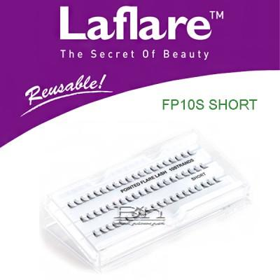 Laflare Artisanal Feather Pointed Silk Individual Lash - FP10S SHORT