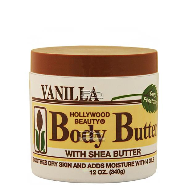 Hollywood Beauty Body Butter 12oz