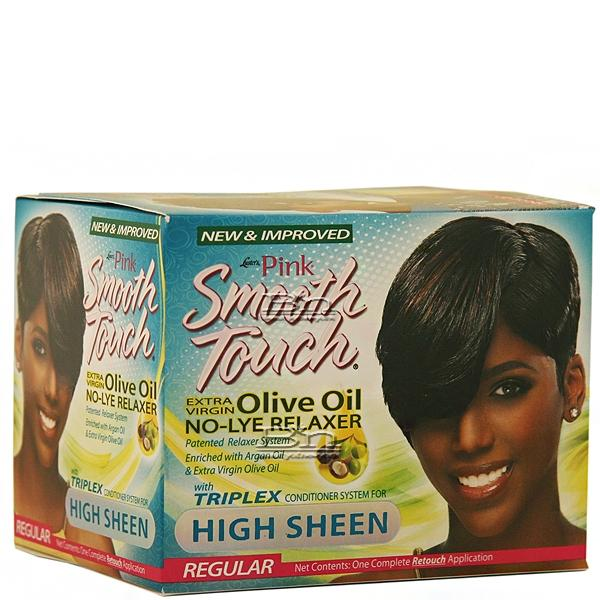 Luster's Pink Smooth Touch Extra Virgin Olive Oil No-Lye Relaxer Kit - Regular