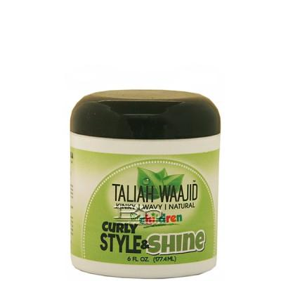 Taliah Waajid Kinky Wavy Natural Children Curly Style & Shine 6oz
