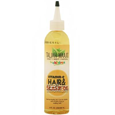 Taliah Waajid Kinky Wavy Natural Children Hair & Scalp Oil 8oz