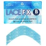 Vapon Lace FX B Curve 25 Clear Self Adhesive Strips