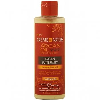 Creme of Nature Argan Oil Argan Buttermilk Leave-In Hair Milk 8oz