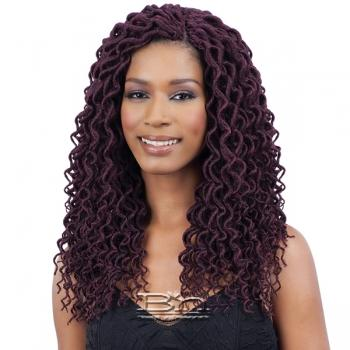 Freetress Synthetic Braid - 2X SOFT CURLY FAUX LOC 12