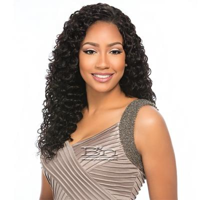 Sensationnel 100% Malaysian Virgin Remi Bundle Hair Bare & Natural - Euro Deep 1pk (16/16/18/18/20/20 + Closure)