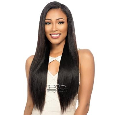 Sensationnel 100% Malaysian Virgin Remi Bundle Hair Bare & Natural - NATURAL YAKI 1pk (12/12/14/14/16/16 + Closure)