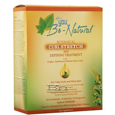 Luster's You Be-Natural Botanical Curl Stretch And Defining Treatment Kit