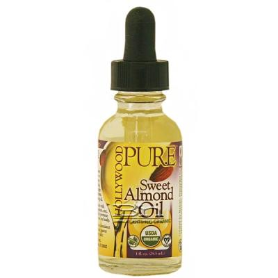 Hollywood Beauty Pure Sweet Almond Oil 1oz