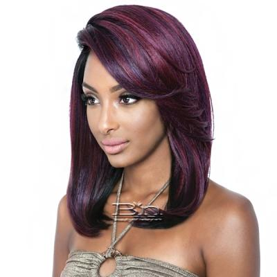 Isis Brown Sugar Human Hair Blend Signature Part Lace Front Wig - BSS202 ELLE