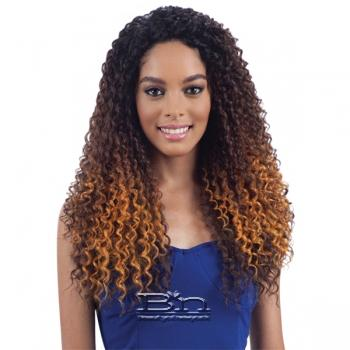 Model Model Synthetic Hair Lace Deep Invisible L Part Lace Front Wig - POP BLOSSOM
