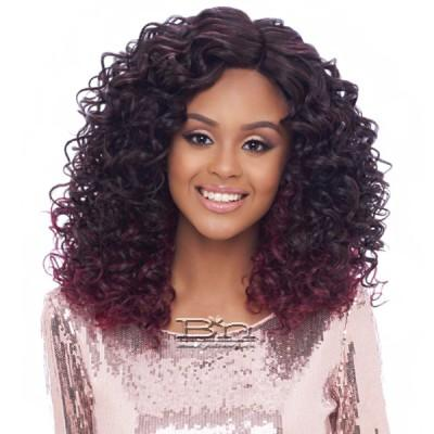 Harlem 125 Synthetic Hair Swiss Lace Reverse Deep Part Wig - LSD06