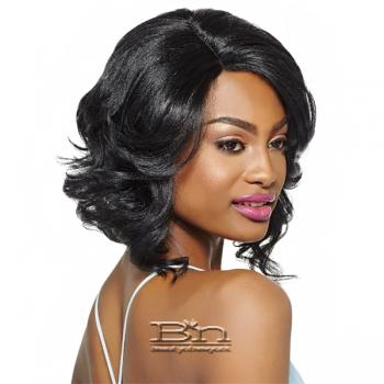 Outre Synthetic L-Part Swiss Lace Front Wig - KERI