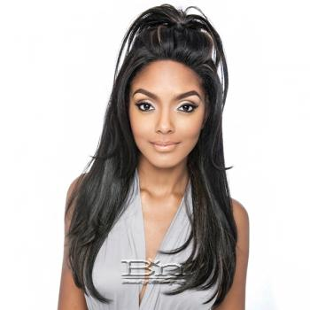 Mane Concept Brown Sugar Human Hair Blend Frontal Lace Front Wig - BSF01 (13x4 Lace Closure Wig)