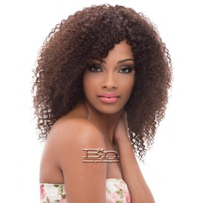 Janet Collection 100% Unprocessed Remy Human Hair Weave - BRAZILIAN BOMBSHELL JERRY CURL 10-12