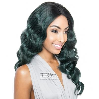Isis Brown Sugar Human Hair Blend Glueless Lace Front Wig - BSG201 CHELSEA (Ear-to-Ear Elastic Band Wig)