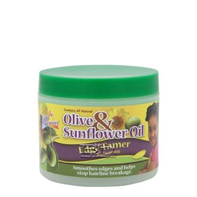 Sofn'Free N'Pretty Olive & Sunflower Oil Edge Tamer 4oz