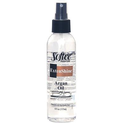 Softee Extenshine Argan Oil Finishing Spray 6oz