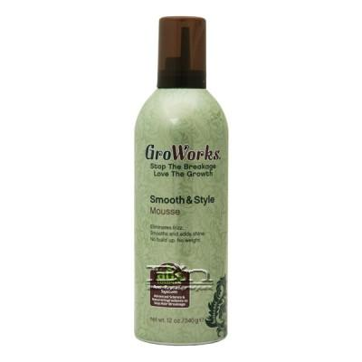 GroWorks Smooth & Style Mousse 12oz