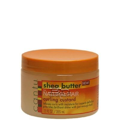 Cantu Shea Butter Natural Hair Curling Custard 12oz