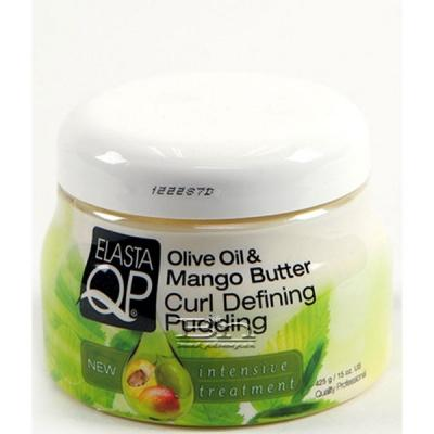 Elasta QP Olive Oil & Mango Butter Curl Defining Pudding 15oz