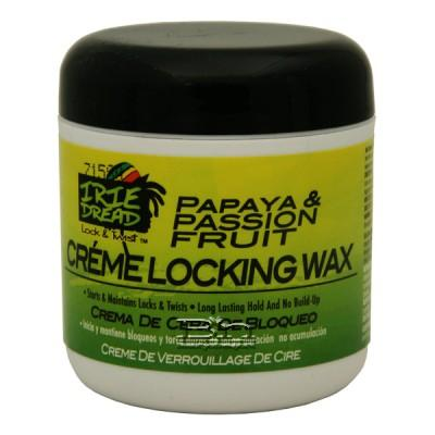 Irie Dread Papaya & Passion Fruit Creme Locking Wax 6oz