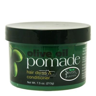 Swiss Jardin Olive Oil Pomade Hair Dress & Conditioner 7.5oz