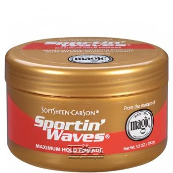 Sportin'Waves Maximum Hold Pomade 3.5OZ